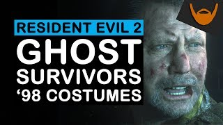 Resident Evil 2 -  Ghost Survivors & 98 Costumes