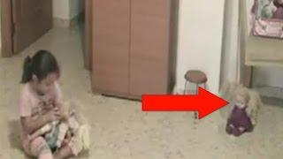 Demon Possessed Doll Blinks And Nods Her Head- Caught on Camera