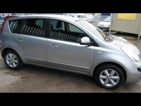 2006 Nissan Note 1 6 SE Mp3