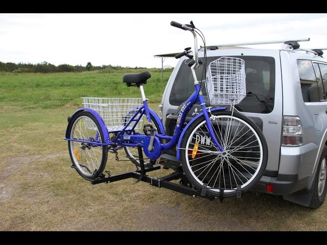 The new Hitch Rider Trike Rack