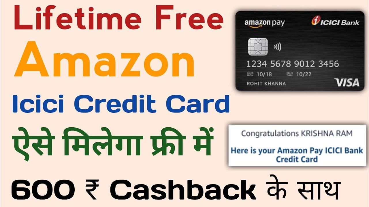 Amazon Icici Bank Credit Card Apply Live Process|How to Use amazon pay icici charge card 2021 thumbnail