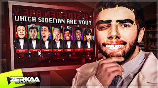 WHICH SIDEMAN ARE YOU?!