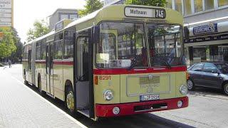 preview picture of video 'Sonderfahrt im historischen MAN SG 192 (Wagen 8291) der Rheinbahn AG Düsseldorf im Jahr 2009'