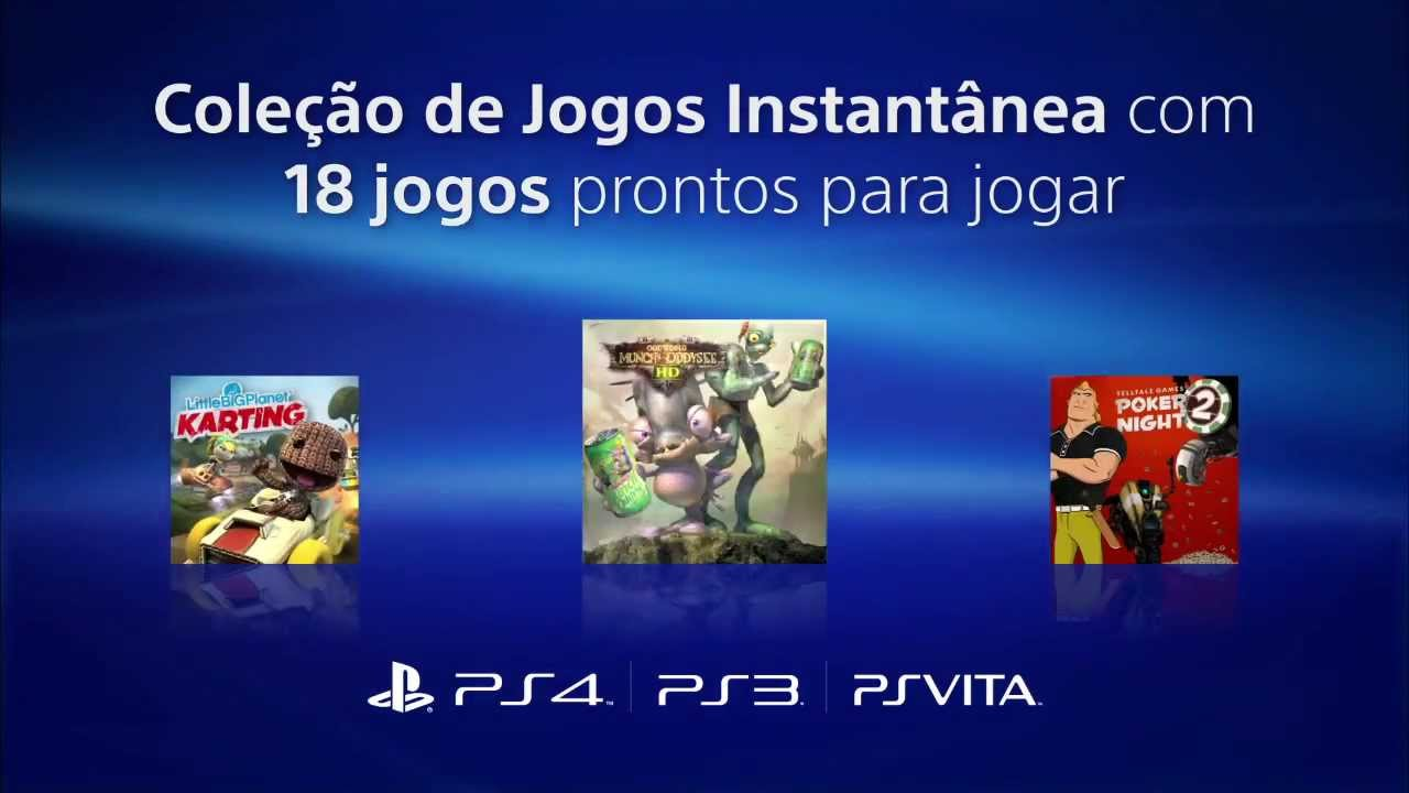 Anunciamos a PlayStation Plus no Brasil