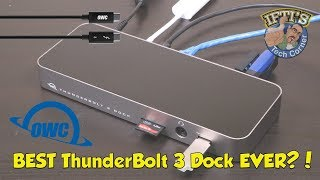 OWC ThunderBolt 3 Dock : Best MacBook Dock EVER?! : REVIEW