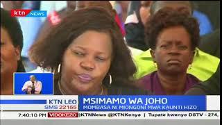Mawaziri 7 kutoka kaunti ya Mombasa wamekula kiapo katika halfa iliyoongozwa na Gavana Joho