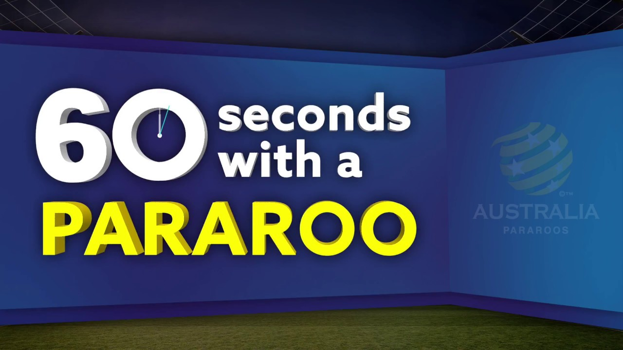 60 Seconds with a Pararoo - David Barber