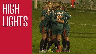 Highlights sc Heerenveen - Ajax Vrouwen | Eredivisie Cup