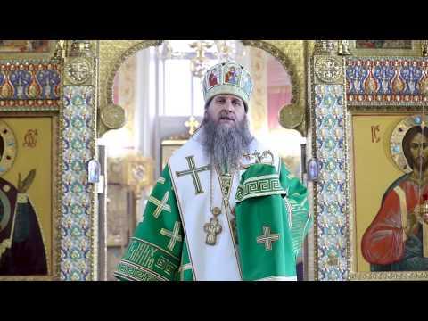Вход Господень в Иерусалим. Проповедь митрополита Курганского и Белозерского Даниила.