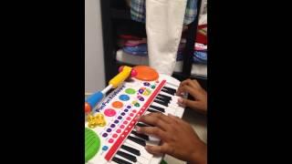 2pm-Stay Here子供用ピアノでもここまでできる!