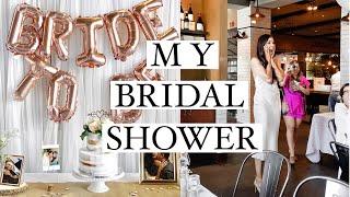 Wedding Series: MY BRIDAL SHOWER