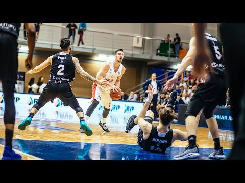 VEF vs CSKA Highlights Quarterfinals Game 1, May 24, 2018