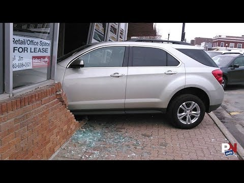 Teenager Smashes Into Exam Center During Driver's License Test