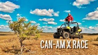 ПЕРЕВЕРНУЛСЯ на БАГГИ,  настоящее РУБИЛОВО на квадроциклах по бездорожью. Гонки Can-Am X Race.