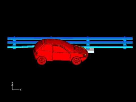 Barrera de contención de vehículos de carretera