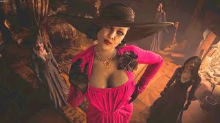 Resident Evil Village Lady Dimitrescu Pink Dress Mod