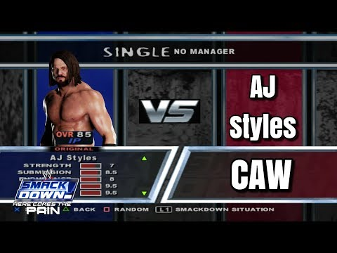 A J STYLES CAW - brooksdelachristo - Video - Free Music Videos
