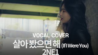 2NE1 - 살아 봤으면 해 (If I Were You) Vocal cover / Cover by Jung Ji Soo