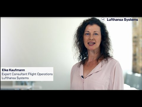Eingebettetes Video for Unsere Kollegin Elke zum Thema 'Consulting Flight Operations'