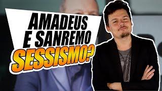 """Amadeus e """"i complimenti"""" a Sanremo: è sessismo?"""