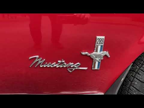 Ford Mustang 289 Hard Top with Special Preparation Video
