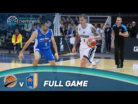 Avtodor Saratov (RUS) v Mornar Bar (MNE) - Full Game - Basketball Champions League 17-18
