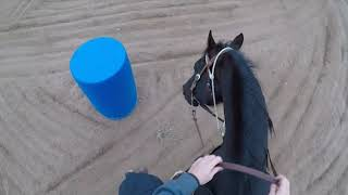 Barrel Racing Drills - Staying In A Turn