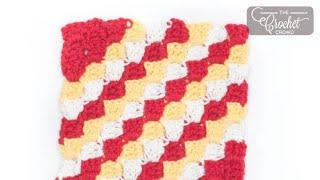Crochet C2C Dishcloth