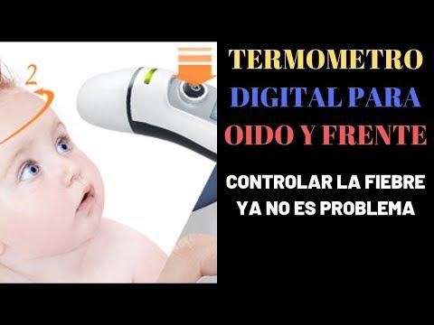 Termómetro digital para oído y frente review | Termometro proven medical