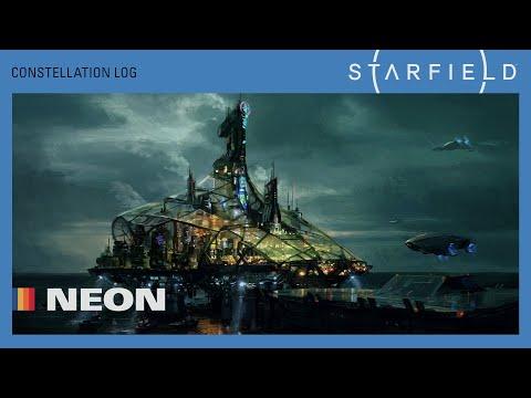 Présentation Neon de Starfield