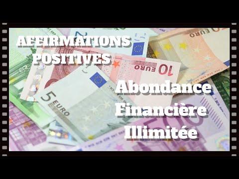 Affirmations positives ABONDANCE FINANCIÈRE ILLIMITÉE - EFT Positif, Défi des 21 jours