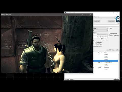 Resident Evil 5 PC - How To Hack Items (by Model Swap Trainer v1 3