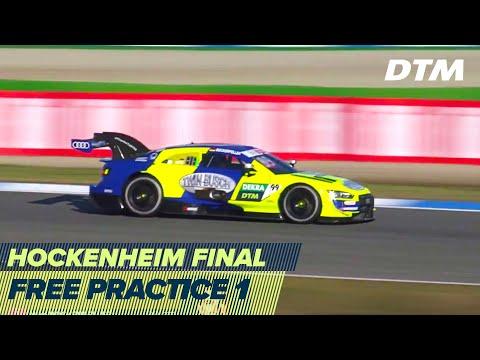DTM ホッケンハイム(ドイツ) 2020 フリープラクティス1ライブ配信動画