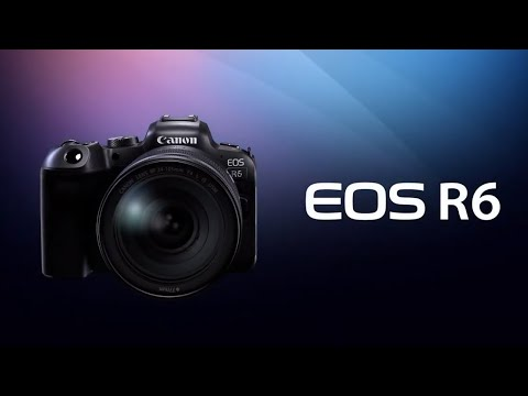 Canon EOS R6 Kit + EF Adapter (15-35 mm, 20.10Mpx, Vollformat)
