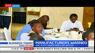 Business Today - 14th December 2017 - ERC implements new tariff for manufacturers