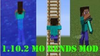 Minecraft Gerçek Hareketler Modu [ 1.10.2 Mo' Bends Mod ] - Minecraft Mod Tanıtımları #1