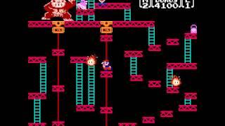 [Dendy/NES] Donkey Kong [Полное прохождение / Longplay]