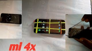 Xiaomi redmi 4x touch glass replacement