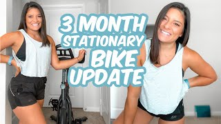 3 Months of Having a Stationary Bike || Answering Your Q's
