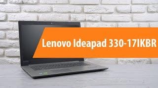 Ноутбук Lenovo IdeaPad 330-17 Onyx Black (81DK006HRA) от компании Cthp - видео 1