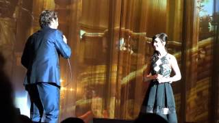 """All I Ask of You"" by Josh Groban & Lena Hall, Sept. 19, 2015"