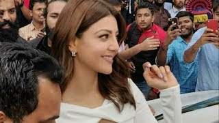 Kajal Aggarwal | Kajal Aggarwal As a Guest For the launch of #ratnadeepsupermarket at Bangalore