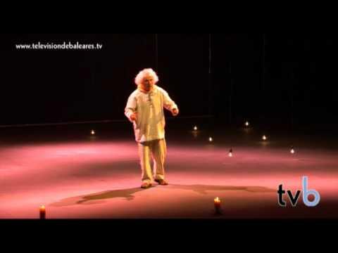 Televisión de Baleares estuvo conversando con El Brujo. (Teatro Palma - Mallorca)