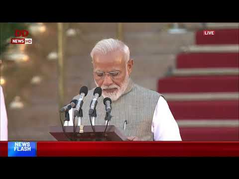 PM Modi takes oath of office and secrecy as a Prime Minister of India
