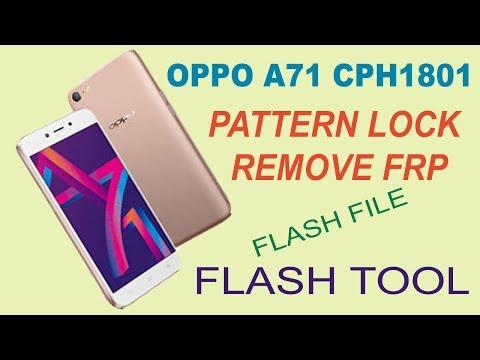 How To Oppo Cph1801 Pattern Unlock