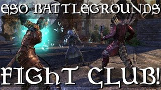 Elder Scrolls Online Morrowind - Battlegrounds With Sernoir!