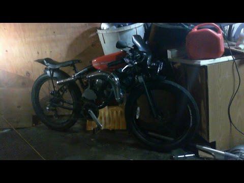 66CC Motorized Bike, Super Bike Style 42 MPH!