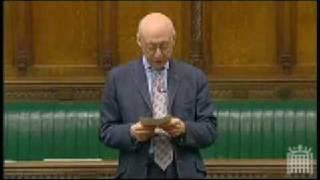 Geralf Kaufmann, A British Jewish MP, Denounces Israeli Atrocities in Palestine