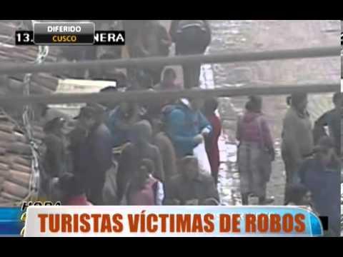 Cusco: Captura de ladrones gracias a cámaras