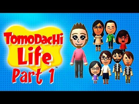 Tomodachi Life - Let's Play - Part 1 German / Deutsch 720p HD